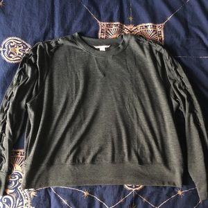 Victoria's Secret Lace Up Sweatshirt